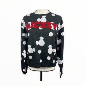 NWT Freeze Mickey Mouse top with sequins